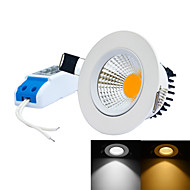billige Innfelte LED-lys-6000-6500/3000-3200 lm Innfelt lampe 1 leds Integrert LED Mulighet for demping Varm hvit Kjølig hvit AC 85-265V
