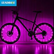 billige Sykkellykter og reflekser-hjul lys LED Sykling Oppladbar Vanntett 18650 Lumens Batteri Sykling