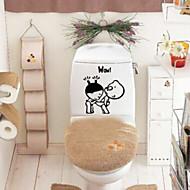 Aufkleber WC / Badewanne / Dusche / Medizin Schränke Plastik Multi-Funktion / Öko freundlich / Zeichentrickfilm / Geschenk