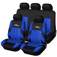 autoyouth Marke Stickerei Auto Sitzbezug Set universell passend meisten Autos bedeckt mit Reifen Länge Detail-Styling Autositz