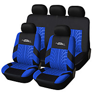 autoyouth marka nakış oto koltuk örtüsü set evrensel uyum çoğu araba lastik parça detay styling araba koltuğu kapakları
