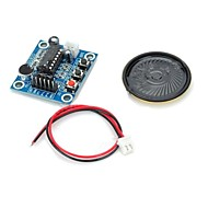 cheap -ISD1820 Audio Sound Recording Module w/ Microphone / Speaker - Deep Blue