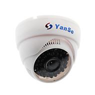 Yanse® cctv hjemmeovervåkning med irskutte dome-sikkerhetskamera - 36 stk infrarøde leds