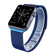 billiga Smart klocka Tillbehör-Klockarmband för Apple Watch Series 3 / 2 / 1 Apple Milanesisk loop Rostfritt stål Handledsrem