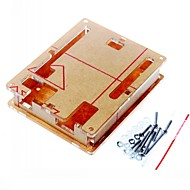 caz carcasa cutie de acril transparent capac transparent pentru Arduino UNO R3 bord R3