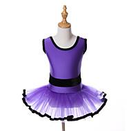 cheap Dancewear & Dance Shoes-Ballet Dresses Tutus Tutus & Skirts Children's Training Performance Spandex Tulle Sashes / Ribbons Sleeveless Halloween Decorations