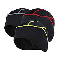 Arsuxeo Bisiklet Şapkası Şapka Kış Sıcak Tutma Nefes Alabilir Statik Olmayan Bisiklete biniciliği / Bisiklet Unisex Elastane Tüylü Kumaş