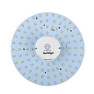 youoklight® 19W 1700lm 3000 / 6000K 100-smd2835 hvitt lys / varm hvit ledet kroppen induksjon taklampe (ac90-265v)