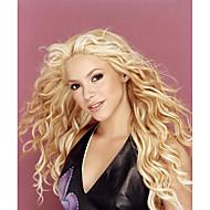Φυσικά μαλλιά Δαντέλα Μπροστά Περούκα στυλ Βραζιλιάνικη Κυματιστό Περούκα 120% Πυκνότητα μαλλιών Μαλλιά με ανταύγειες Φυσική γραμμή των μαλλιών Περούκα αφροαμερικανικό στυλ 100% δεμένη στο χέρι