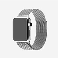 cheap Smartwatch Accessories-Watch Band for Apple Watch Series 4/3/2/1 Apple Milanese Loop Stainless Steel Wrist Strap