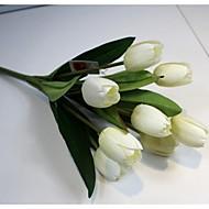 billige Kunstig Blomst-Kunstige blomster 1 Afdeling minimalistisk stil Tulipaner Bordblomst