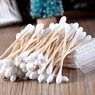 1セット本物の天然白樺スティック綿棒美容健康カポックきれいな化粧綿棒50パック