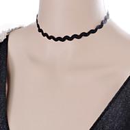 Dame Coliere Choker Bijuterii Gothic Torțe tatuaj cravată Dantelă Material Textil Stil Tatuaj La modă Bijuterii Pentru Nuntă Petrecere
