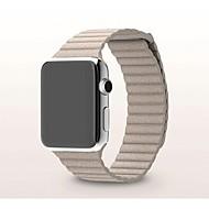 billiga Smart klocka Tillbehör-Klockarmband för Apple Watch Series 3 / 2 / 1 Apple Milanesisk loop Äkta Läder Handledsrem