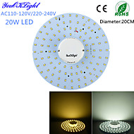 cheap LED Ceiling Lights-YouOKLight 1800 lm LED Ceiling Lights 100 leds SMD 2835 Decorative Warm White Cold White AC 110-130V AC 220-240V