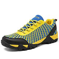 ieftine Pantofi din Plasă pentru Drumeție-Bărbați Pantofi Tul / Imitație de Piele Primăvară / Toamnă Confortabili Drumeții Portocaliu / Gri / Albastru