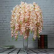 Afdeling Polyester Orkideer Bordblomst Kunstige blomster