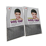 siyah peruk peruk 2adet için özel peruk net anti kayma sabit saç net peruk aksesuarları kapaklar