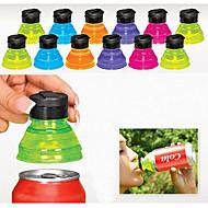 Χαμηλού Κόστους Ποτήρια & Κούπες-σύνολο 6 δημιουργική αποταμιευτές σόδα toppers επαναχρησιμοποιήσιμα καπάκια μπορεί να μετατρέψει