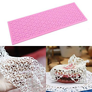 Silicone Lace Mats Mold Cake Mould Sugar Craft Fondant Mat Cake Decorating Baking Tool