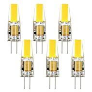 billige Kornpærer med LED-250 lm G4 LED-kornpærer T 1 leds COB Dekorativ Varm hvit Kjølig hvit DC 12 V AC 12V