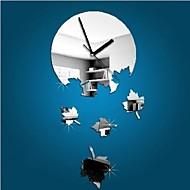 Zaokrąglanie Modern / Contemporary / Przypadkowy / Biuro / Biznes Zegar ścienny,Święto / Domy / Inspirujące / Ślub / Rodzina / Szkoła /