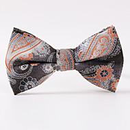 tanie Akcesoria dla mężczyzn-Męskie Impreza/Wieczór Styl formalny Luksusowy Wzór Biuro / Biznes Modne Muszka Kreatywne