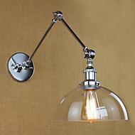 Wall Light Ambient Light Swing Arm Lights 40W 110-120V 220-240V E26/E27 Modern/Contemporary Electroplated