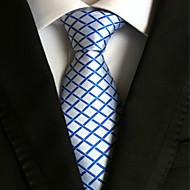 Solmio - Polyesteri , Ruudukko , Sininen / Valkoinen