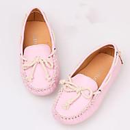 baratos Sapatos de Menina-Para Meninos / Para Meninas Sapatos Courino Verão Sapatos de Barco Branco / Rosa / Amarelo