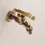 billige Rabatt Kraner-Baderom Sink Tappekran - Foss / Touch / ikke-touch Bronse Centersat Enkelt Håndtak Et HullBath Taps