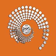 Zaokrąglanie Modern / Contemporary / Przypadkowy / Biuro / Biznes Zegar ścienny,Święto / Domy / Inspirujące / Znajomi / Urodziny / Ślub /