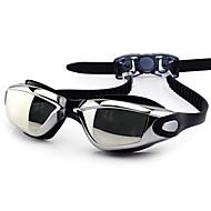FEIUPE משקפי שחייה לנשים / לגברים / יוניסקס נגד ערפל / עמיד למים / גודל מתכוונן / אנטי-UV סיליקה ג'ל PC לבן / אפור / שחור / כחולאפור /
