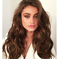 Afordable 8A Glueless or Full Lace Wigs in Natural Sexy Big Wave Brazilian Virgin Remy Human Hair Wigs For Women