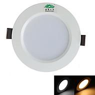 baratos Luzes LED de Encaixe-3000-3500/5500-6000 lm Lâmpada de Teto 10 leds SMD 5730 Decorativa Branco Quente Branco Natural AC 85-265V