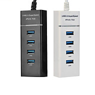 High Speed ​​USB 3.0 4-poorts hub met indicator