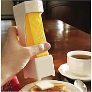 ett klikk smør kutter slicer - skiver m / en klem - dobler som smør tallerken