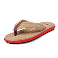 Gutter-Tekstil-Flat hæl-Komfort-Sandaler-Friluft Fritid-Blå Grønn Rød