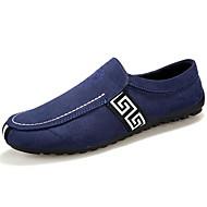 Muške cipele Mokasine Ležerne prilike Umjetna koža Crna / Plava / Crvena