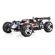 RC Car WL Toys A959 2.4G 4WD High Speed Drift Car Off Road Car Buggy (terenski) 1:18 Četka Electric 45 Km / h Daljinsko upravljanje Može