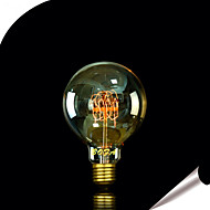 billige Glødelampe-1pc 40 W 350 lm E26 / E27 G95 LED perler 220-240 V