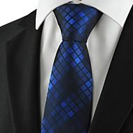 tanie Akcesoria dla mężczyzn-Męskie Luksusowy Wzór Kratka Modne Kreatywne