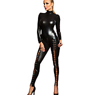 cheap Sexy Costumes-More Costumes Cosplay Costume Women's Carnival New Year Festival / Holiday Halloween Costumes Black Solid Colored Sexy Uniforms More