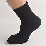 Chaussettes de Course Homme Respirable Faible Frottement Anti-transpiration-5 paires pour Yoga Pilates Golf Cyclisme/Vélo Fitness Sports