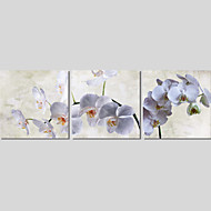 Canvas Set Of 3 Modern Wall Painting Flower Canvas Art Pictures Print Painting Wedding Home Decor