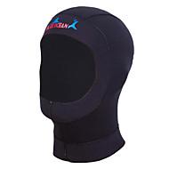 Unisex 1mm Dykkerhuer Vandtæt Ultraviolet Resistent Påførelig Anti-skrid Neopren Dykkerdragt Hattetrøje Dykkerdragter-Svømning Dykning