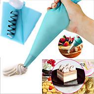 tanie Przybory do pieczenia-6 sztuk zestaw do dekorowania tortów oblodzenie torby porady narzędzie do pieczenia wklej ciasto żywności rurociągów