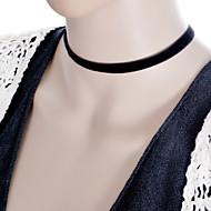 Pentru femei Coliere Choker Torțe Bijuterii Gothic Circle Shape Dantelă Material Textil Design Basic Stil Tatuaj La modă costum de