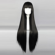 Cosplay Wigs InuYasha Sango Anime Cosplay Wigs 80 CM Otporna na toplinu vlakna Žene
