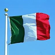 halpa -uusi 90 * 150cm roikkuu suuri italia lippu bannerin sisä- ulkokäyttöön sisustus (no lipputangon)